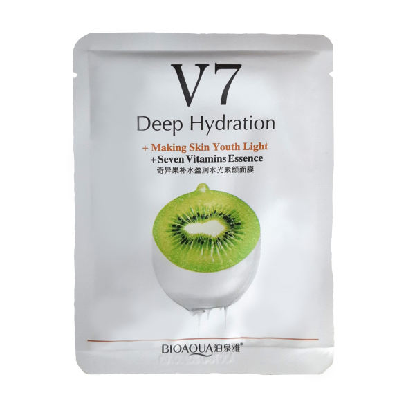 ماسک صورت بایو آکوا مدل ویتامین C وزن 30 گرم