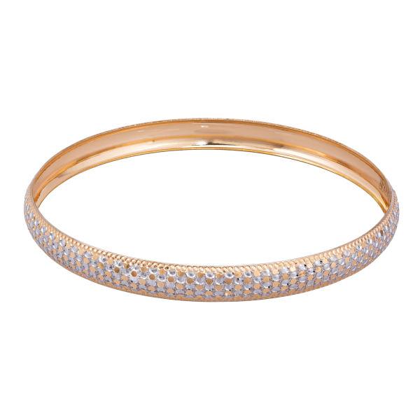 النگو طلا 18 عیار زنانه گالری یارطلا کد AL17-W-1