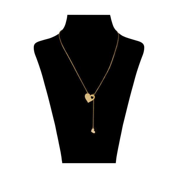 گردنبند طلا 18 عیار زنانه نیوانی مدل N1073
