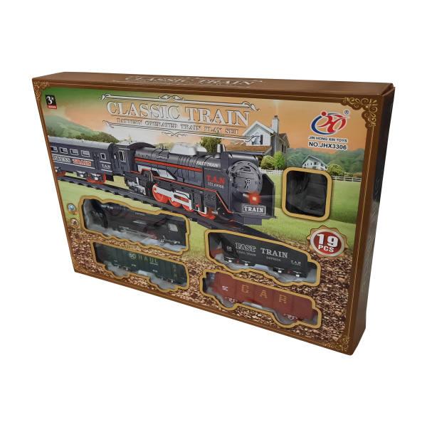 قطار بازی مدل CLASSIC TRAIN کد 3306
