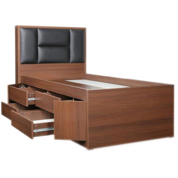 تخت خواب یک نفره مدل 4065 سایز 200 × 120 سانتی متر