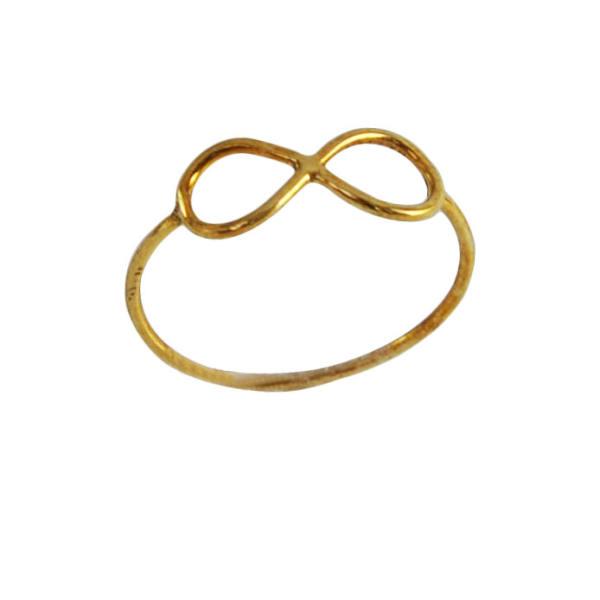 انگشتر نقره زنانه طرح بینهایت کد 502