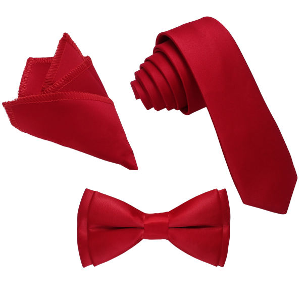 ست کراوات و پاپیون و دستمال جیب مردانه کد R