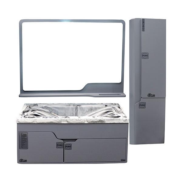 ست کابینت و روشویی مدل هلما به همراه آینه