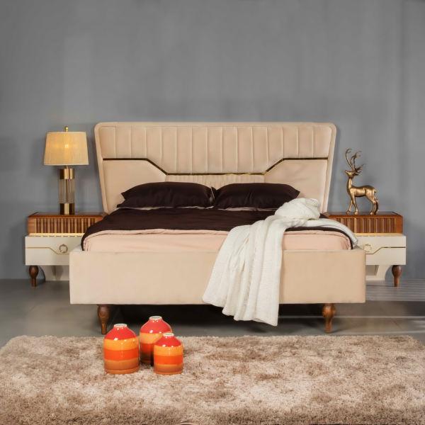 تخت خواب دو نفره مدل 202 سایز 160x200 سانتیمتر