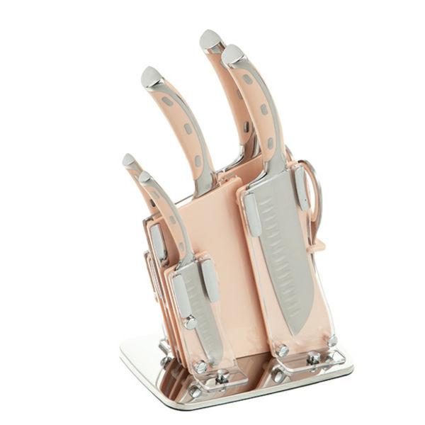 سرویس چاقو اشپزخانه 7 پارچه جی فی نی مدلG01