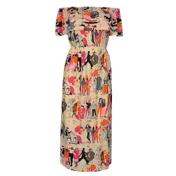 پیراهن ساحلی زنانه مدل 358800409