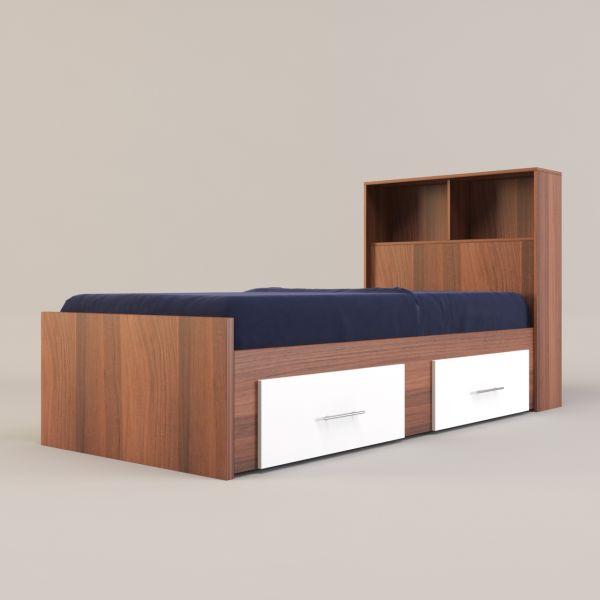 تخت خواب یک نفره مدل FH275 سایز100x206 سانتی متر