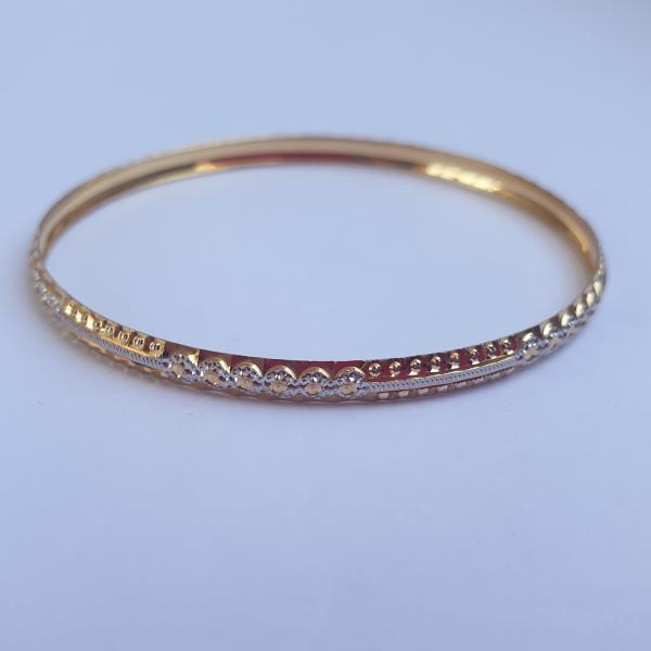النگو طلا 18 عیار زنانه مدل 1443