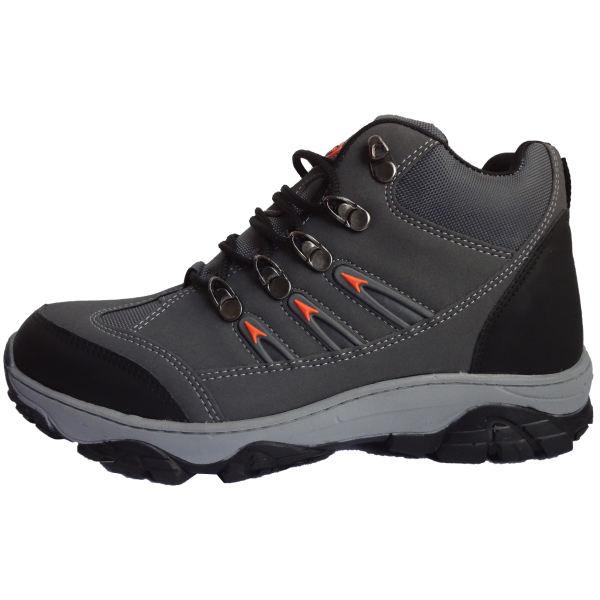 کفش کوهنوردی مدل 12 رنگ طوسی