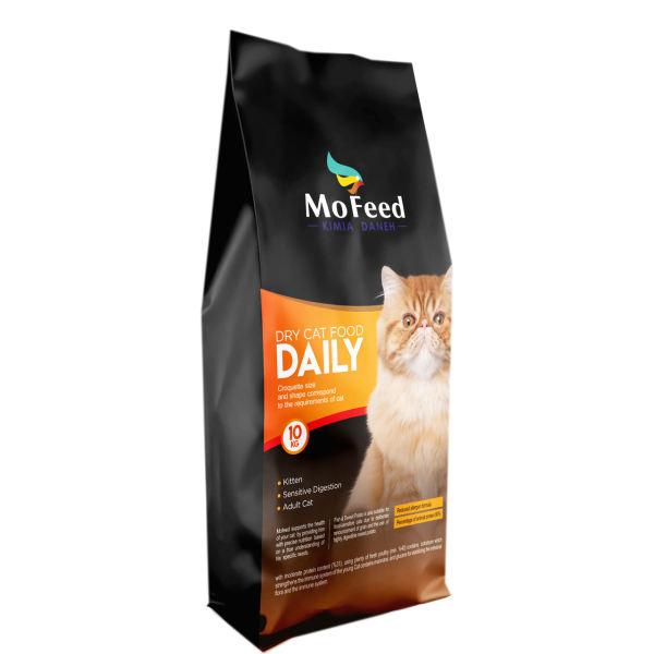 غذای خشک گربه مفید مدل TEH-ADULT10 وزن 10 کیلوگرم