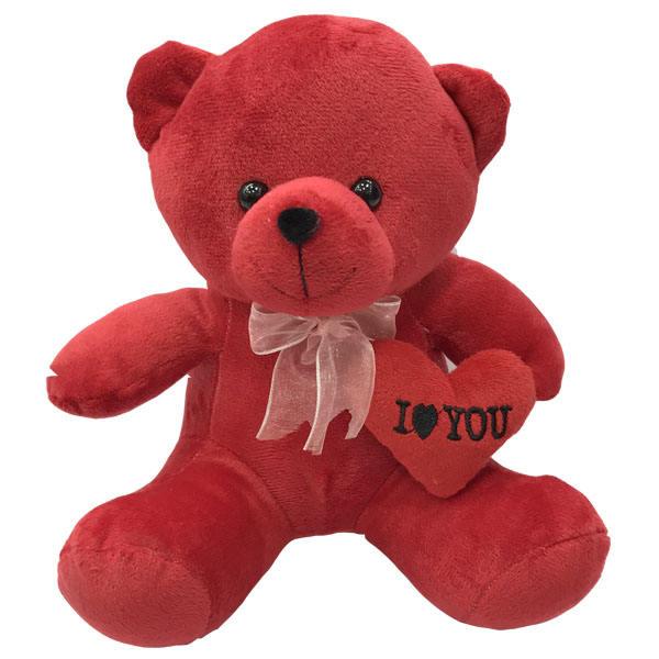 عروسک طرح خرس قلب بدست ارتفاع 25 سانتی متر