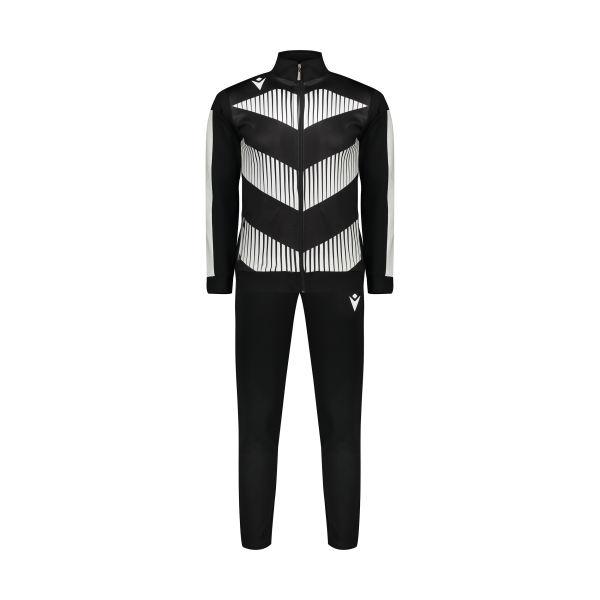 ست سویشرت و شلوار ورزشی مردانه مکرون مدل ویتوریا رنگ مشکی