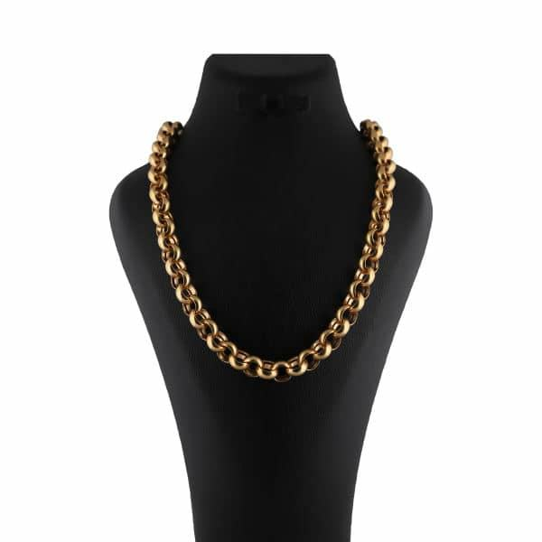 زنجیر طلا 18 عیار زنانه آلند مدل Z1