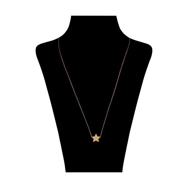 گردنبند طلا 18 عیار زنانه نیوانی مدل N1050