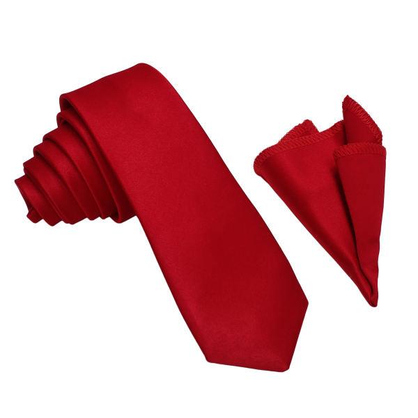 ست کراوات و دستمال جیب مردانه مدل R