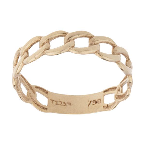 انگشتر طلا 18 عیار زنانه کانیار گالری کد AT23