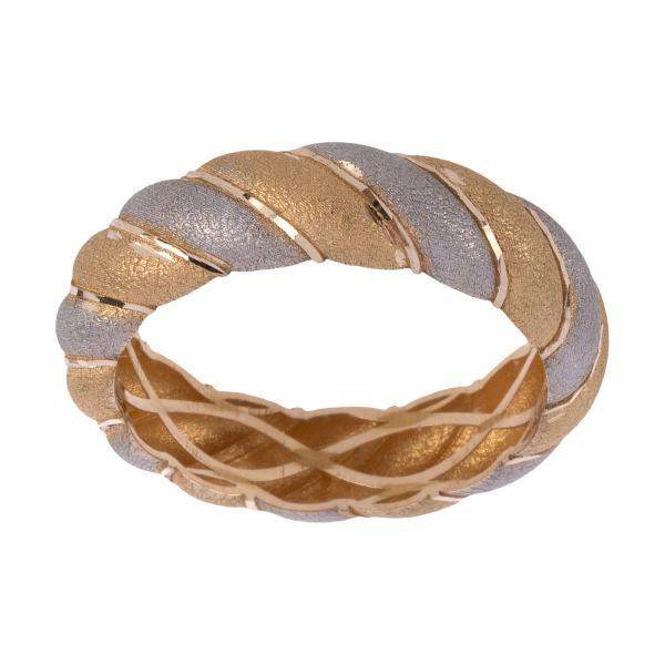 انگشتر طلا 18 عیار زنانه گالری یارطلا کد ANF20-17