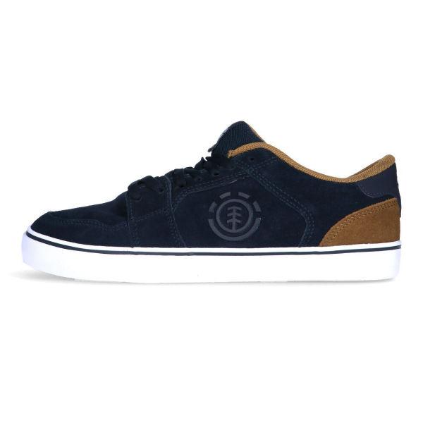 کفش طبی مردانه المنت مدل Heatley Navy Breen Q6HEA1-01A-4516
