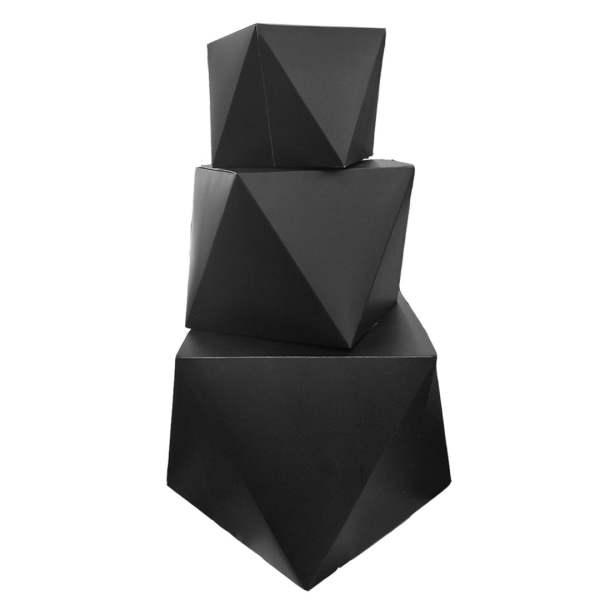 جعبه هدیه مدل اوریگامی مجموعه 3 عددی