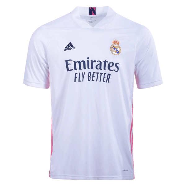 تی شرت ورزشی مردانه مدل رئال مادرید کد home20.21 غیر اصل