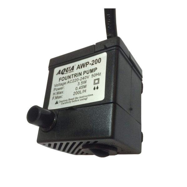 پمپ فواره آکواریوم آکوا کد 1598239 مدل AWP-200