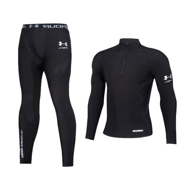 ست تی شرت و لگینگ ورزشی مردانه آندر آرمور مدل ad_1