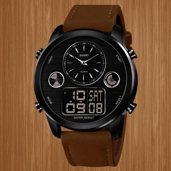 ساعت مچی عقربه ای مردانه اسکمی مدل 1653 BN