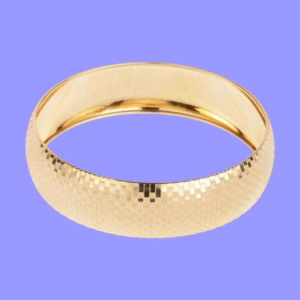 النگو طلا 18 عیار زنانه گالری یارطلا کد AL47-G-4