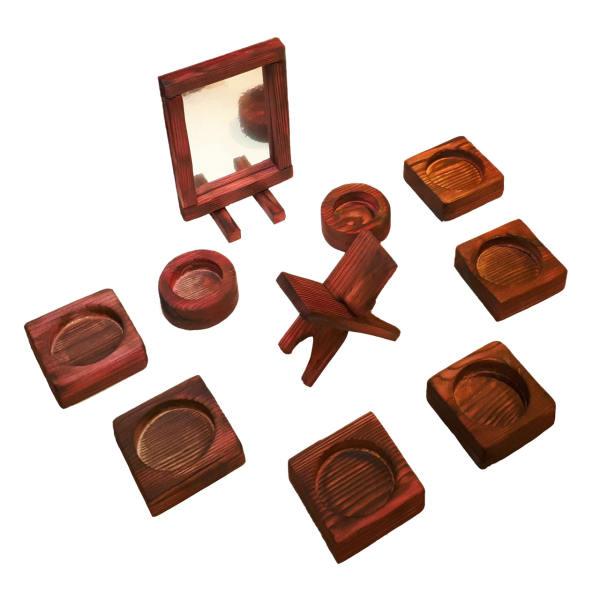 مجموعه ظروف هفت سین 10 پارچه مدل 13