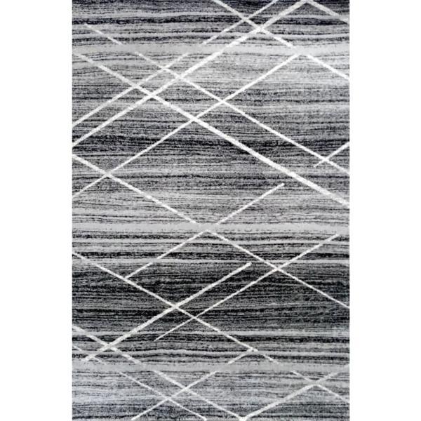 فرش ماشینی ساوین کد 4083 زمینه مشکی