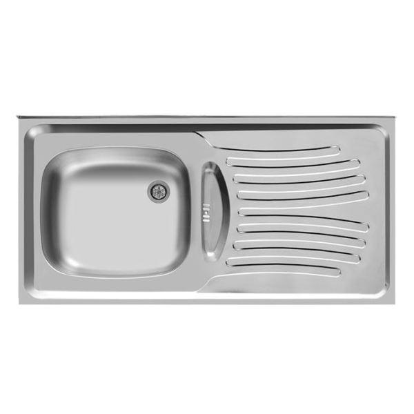 سینک ظرفشویی اخوان مدل 123 روکار
