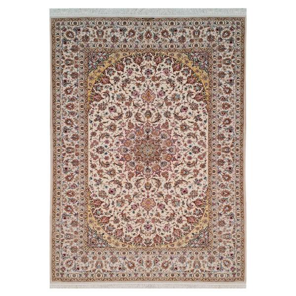 فرش دستبافت شش و نیم متری اصفهان مقدم کد 290 یک جفت