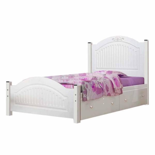 تخت خواب یک نفره کد AY01 سایز 90x200 سانتیمتر