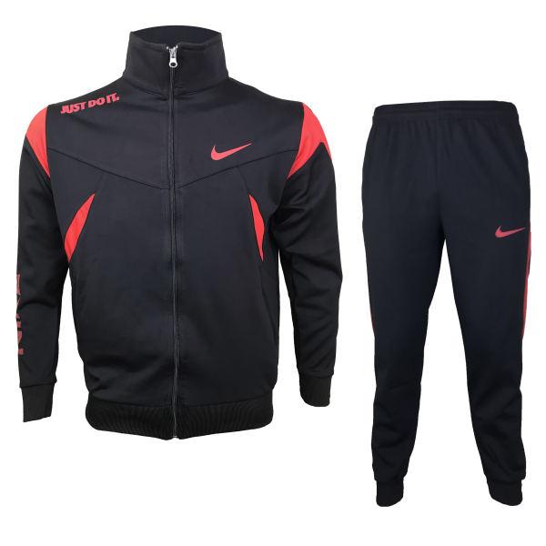 ست گرمکن و شلوار ورزشی مردانه مدل N-100BL غیر اصل