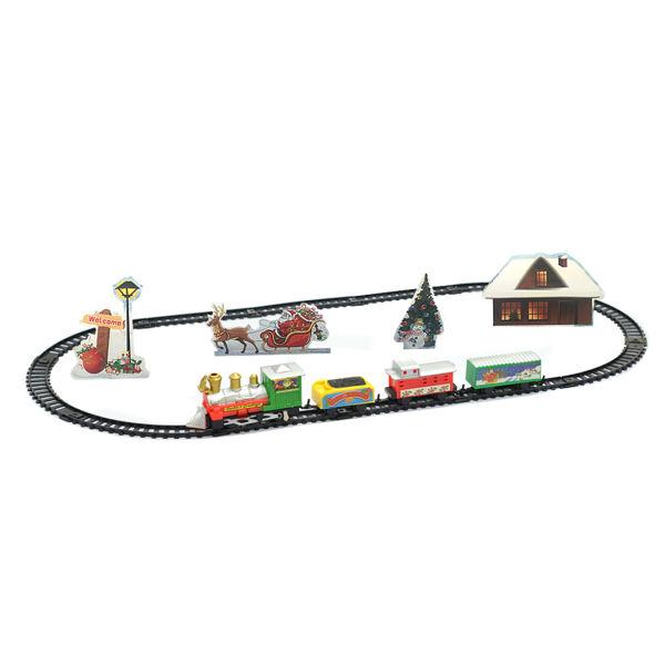 قطار بازی مدل کلاسیک طرح Merry Christmas