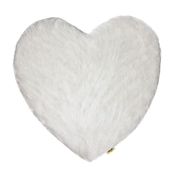 پادری ایکیا طرح قلب کد H011 سایز82×82 سانتی متر