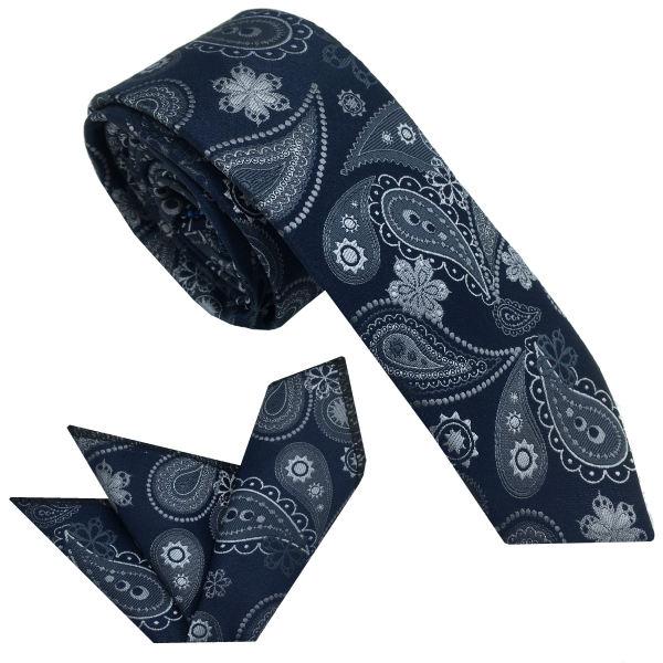 ست کراوات و دستمال جیب مردانه هکس ایران مدل KT-MD24