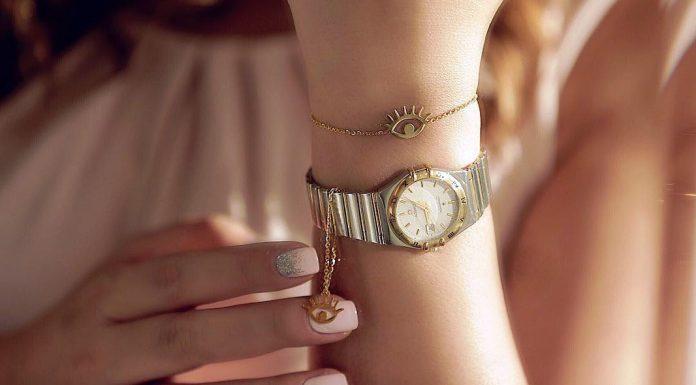 خرید آویز ساعت طلا