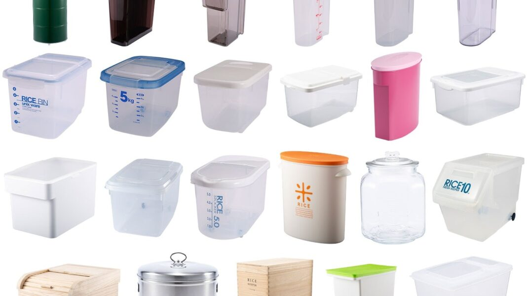 راهنمای خرید سطل برنج