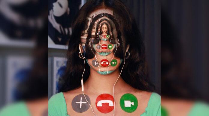 نقاشیهای خیرهکننده و عجیب روی صورت بدون فتوشاپ