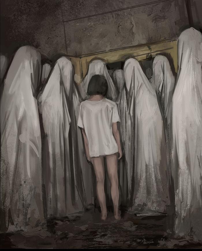 تصویر ترسناک اثر استفان کوئیدل شماره 15