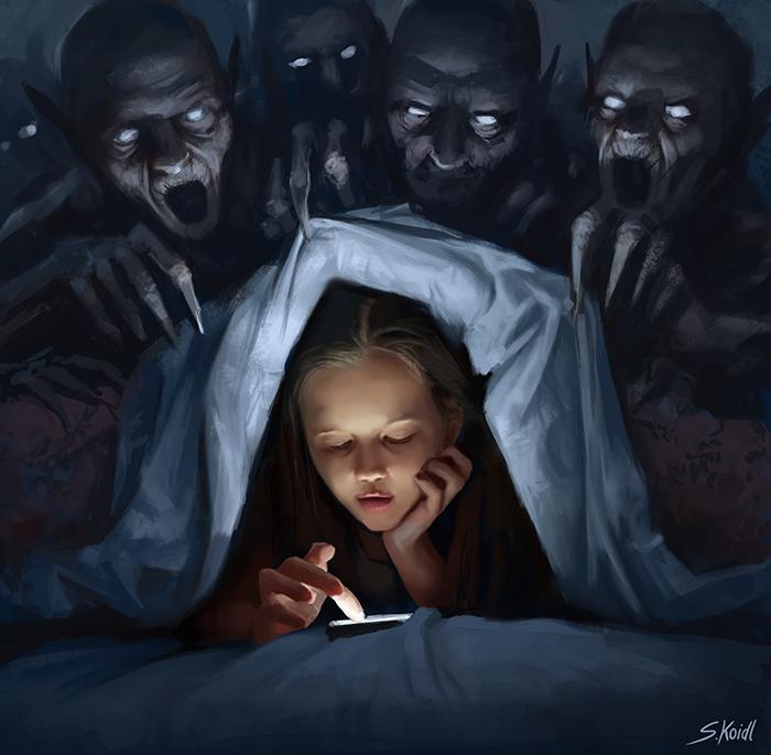 تصویر ترسناک اثر استفان کوئیدل شماره 6