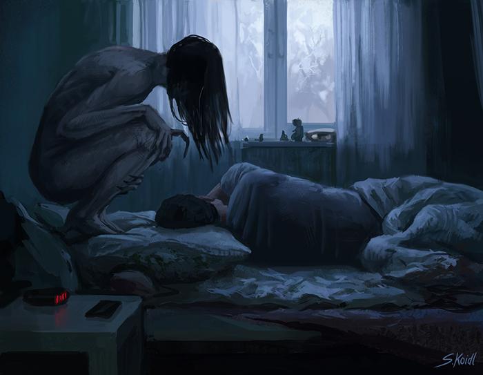 تصویر ترسناک اثر استفان کوئیدل شماره 7