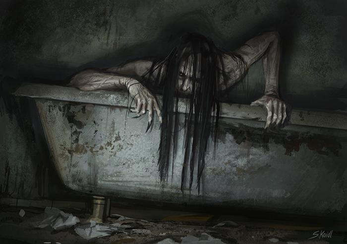 تصویر ترسناک اثر استفان کوئیدل شماره 26