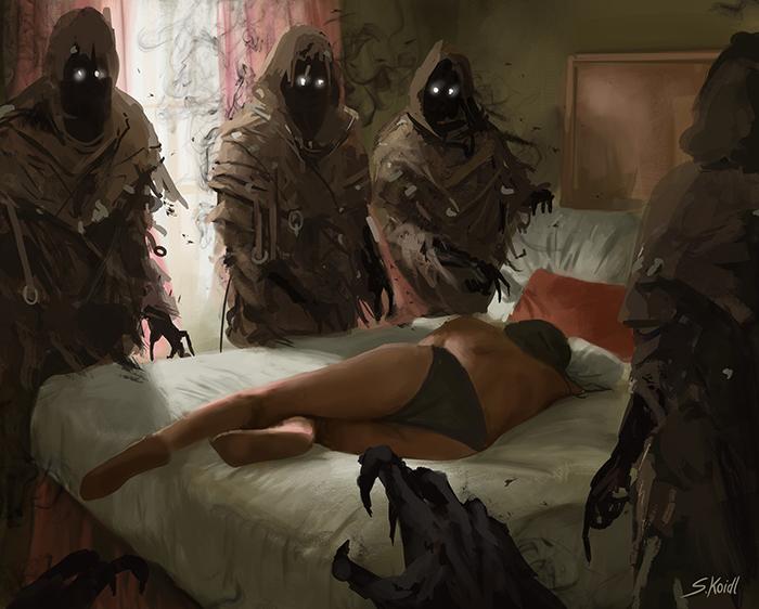 تصویر ترسناک اثر استفان کوئیدل شماره 27