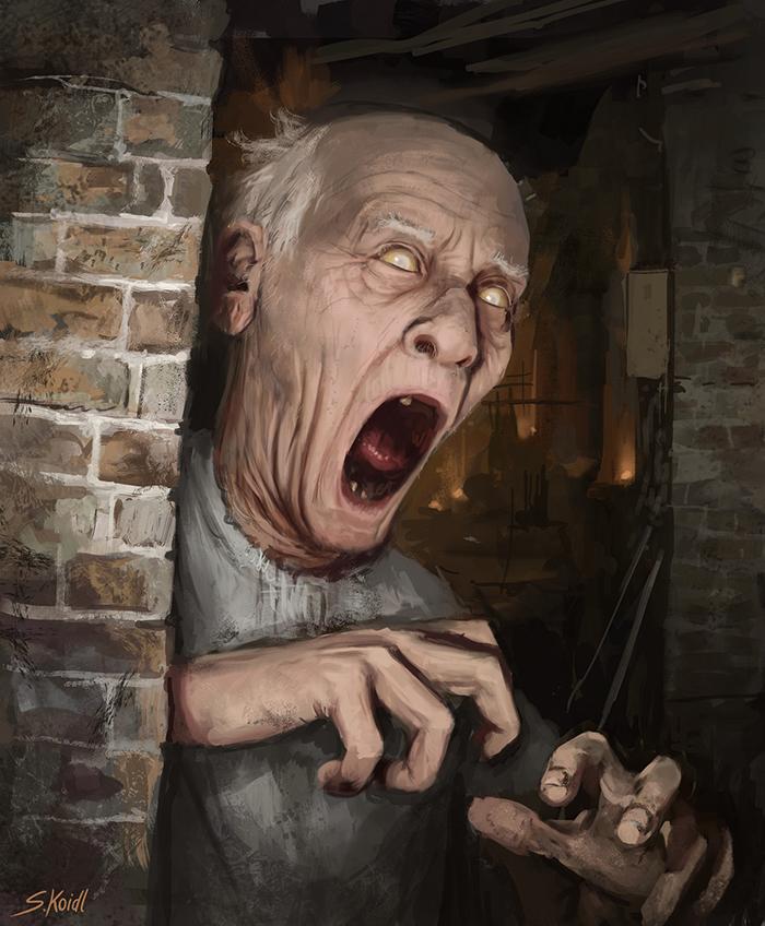تصویر ترسناک اثر استفان کوئیدل شماره 37