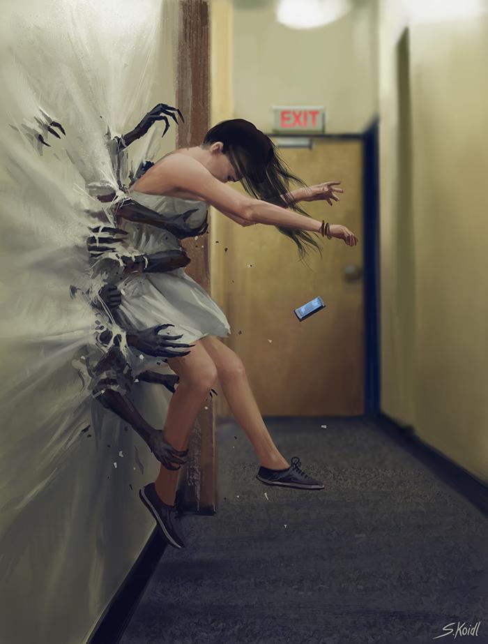 تصویر ترسناک اثر استفان کوئیدل شماره 8