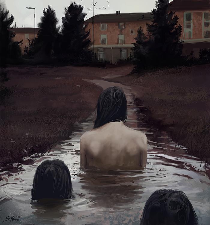 تصویر ترسناک اثر استفان کوئیدل شماره 20