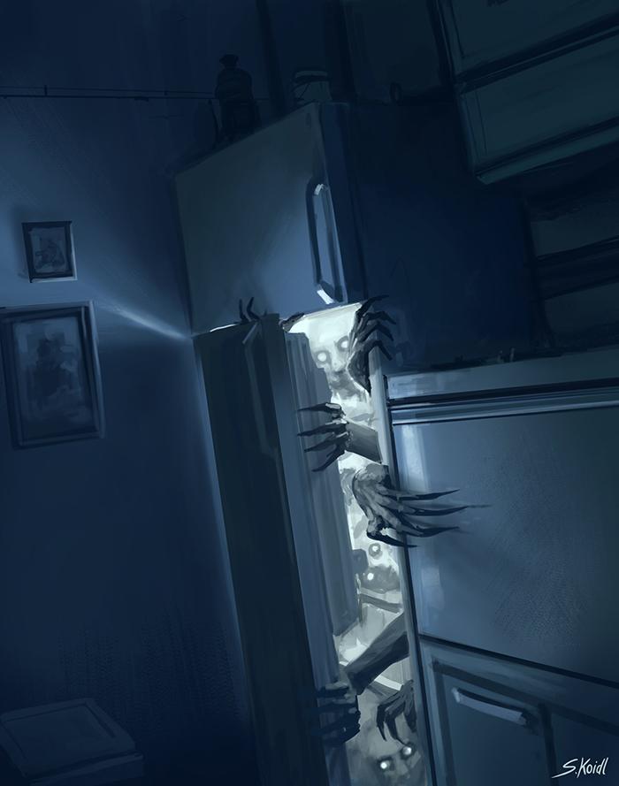 تصویر ترسناک اثر استفان کوئیدل شماره 34